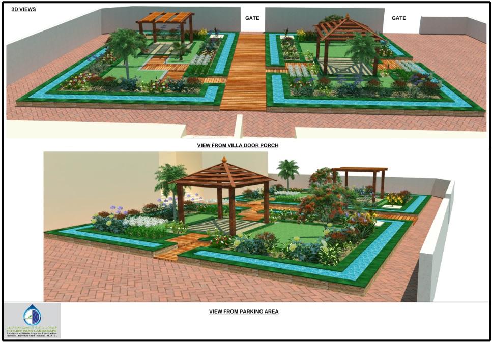 Design And Planning Future Park Landscape
